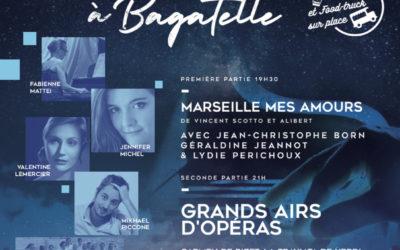 Samedi 22 juin 2019 – Soirée musicale sous les étoiles de Bagatelle au profit de la Croix-Rouge