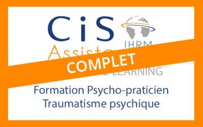 Formation Psychopraticien psychotrauma / Complet